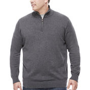 The Foundry Big & Tall Supply Co. Quarter-Zip Sweater