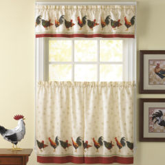 kitchen curtain sets curtains & drapes for window - jcpenney