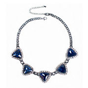 Mixit™ Blue Stone Statement Necklace