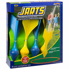 Poof Jarts Lawn Darts 7-pc. Target Toss Set