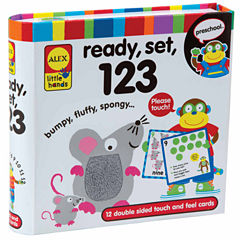 Alex Toys Little Hands Touch And Feel Flash Cards 123 13-pc. Interactive Toy