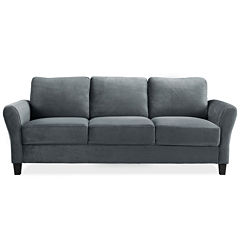 Westin Microfiber Rolled Arm Sofa
