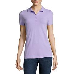 St. John's Bay® Short-Sleeve Polo
