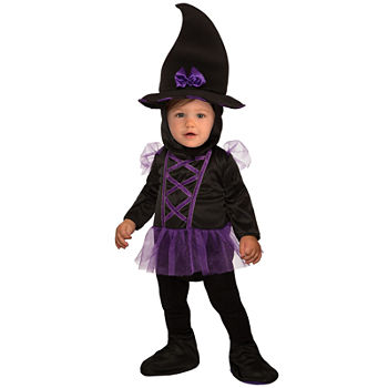 Baby Kiddie Witch Costume