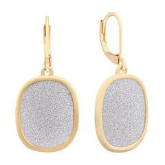 Monet Jewelry Silver and GoldTone Drop Earrings
