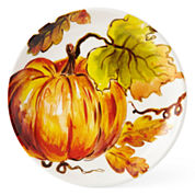 JCPenney Home™  Pumpkin Set of 4 Salad Plates