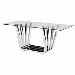 Zuo Modern Fan Rectangular Dining Table