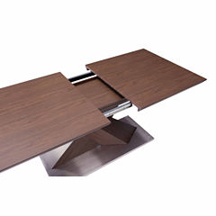 Zuo Modern Jaques Extension Rectangular Dining Table