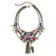 Aris by Treska 3-Row Shaky Necklace