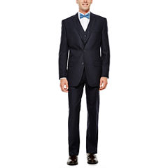 IZOD® Navy Plaid Suit Separates - Classic Fit