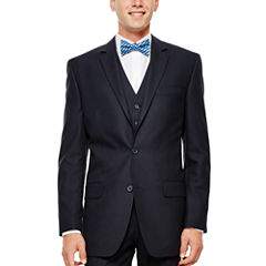 IZOD® Navy Plaid Suit Jacket - Classic Fit