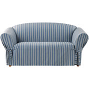 SURE FIT® Grain Sack Stripe Slipcover Collection