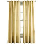 Hayden Rod-Pocket Back-Tab Curtain Panel