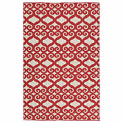 Kaleen Brisa Scroll Positive Rectangle Accent Rug