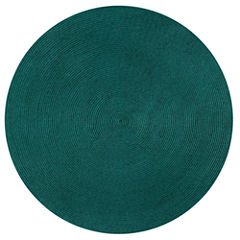 Better Trends Country Solid Braided Round Reversible Rugs