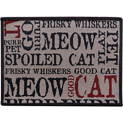 PB Paws by Park B. Smith® Good Cat Tapestry Pet Mat