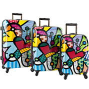 Heys® Britto Butterfly Love Hardside Spinner Upright Luggage Collection