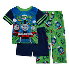 Thomas and Friends 3-pc. Pajama Set- Toddler Boys 2t-4t