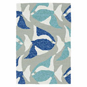 Kaleen Sea Isle Rug Collection Hand Tufted Rectangle Accent Rug