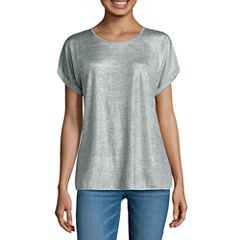 i jeans by Buffalo Foil Heather Tee