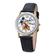Disney® Mens Cardiff Twotone Mickey Watch