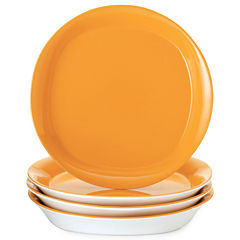 Rachael Ray® Round & Square Set of 4 Salad Plates