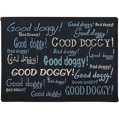 PB Paws by Park B. Smith® Doggy Praise Tapestry Pet Mat