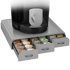 Mind Reader 36 Capacity Coffee Pod Triple Drawer