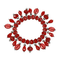 Mixit™ Red Bead Shaky Stretch Bracelet