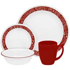 Corelle® Livingware™ Bandhani 16-pc. Dinnerware Set