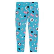 Total Girl Dots Knit Leggings - Preschool