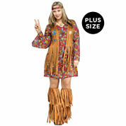 Peace And Love Hippie 3-pc. Dress Up Costume