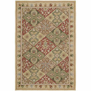 Kaleen Kaleen Home Porch Patchwork Hand Tufted Rectangle Accent Rug