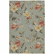 Kaleen Home And Porch Bouquet Hand Tufted Rectangular Rugs