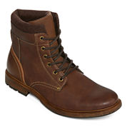 JF J. Ferrar® Rufus Mens Lace-Up Boots