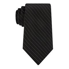 Stafford Simple Glitter Stripe Tie