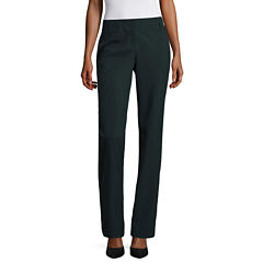 Worthington® Split Wide-Waist Straight Leg Pants - Tall