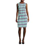 Alyx Sleeveless Diamond Circle Sheath Dress