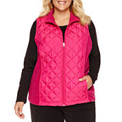 Made For Life Quilted Vest-Plus