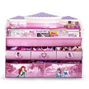 Disney Princess Deluxe Book & Toy Organizer