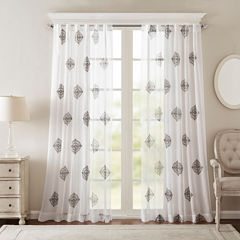 Massa Grommet-Top Curtain Panel