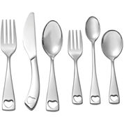 Oneida® Little Love 6-pc. 18/10 Stainless Steel Baby Progress Flatware Set