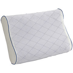 Sealy® Posturepedic® Cooling Gel and Memory Foam Contour Pillow