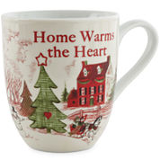 Fitz and Floyd® Home Warms The Heart Set of 2 Porcelain Mugs