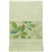 Bacova Waterfall Leaves Fingertip Towel