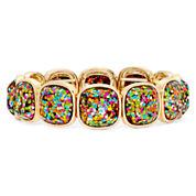 Liz Claiborne® Multicolor Stretch Bracelet