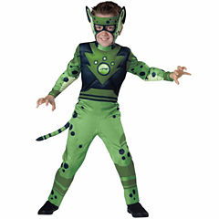 Wild Kratts Quality Green Cheetah Costume For Boys- XS