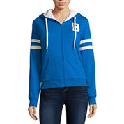 Flirtitude Active Sherpa Lined Hoodie- Juniors