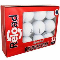 12 Pack Bridgestone B330-RX Refinished Golf Balls.