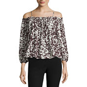 Worthington Off The Shoulder Blouse